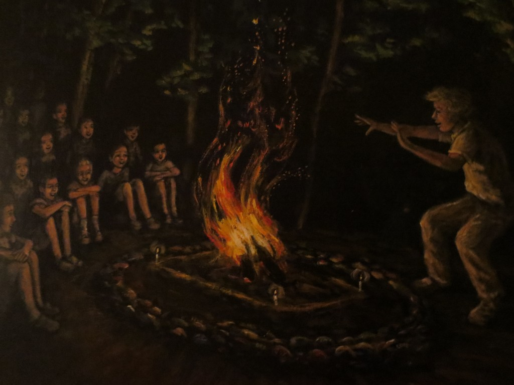 Storytelling at Fire