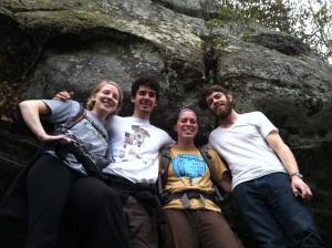 Kat, Evan, Ruby, and Harrison